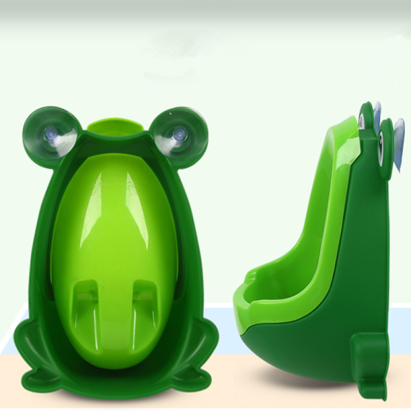 Lovely Frog Children Kids Potty Removable Toilet Training Kids Urinal Early Learning Boys Pee Trainer Bathroom - Slabiti