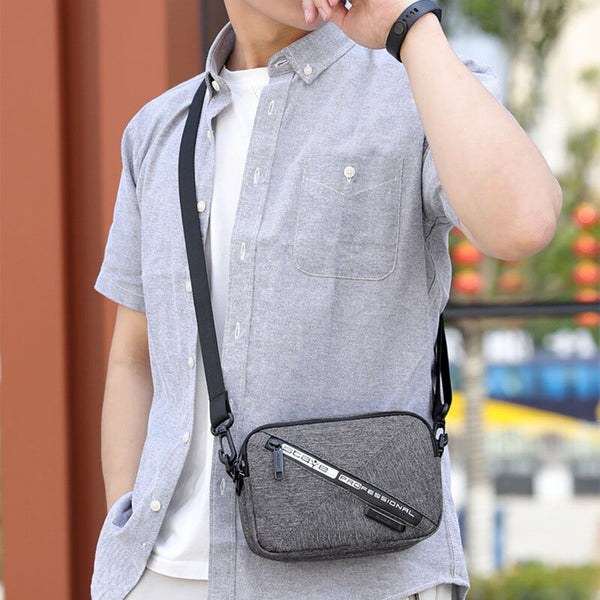 Men Casual Waterproof Shoulder Bag Crossbody Bag Messenger Bag Waist Bag - Slabiti