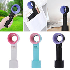 Small portable bladeless fan - USB Charging - Slabiti