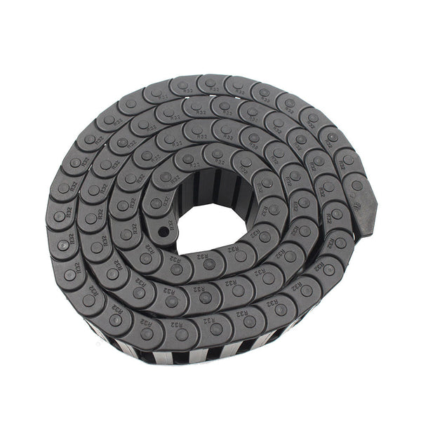 10*40mm L1000mm Opening Nylon Plastic Drag Chain With End Connectors for 3D Printer CNC Part - Slabiti