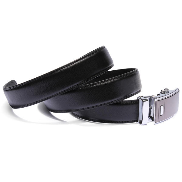 Mens Automatic Buckle Business New Design Leather Cowhide Belt - Slabiti