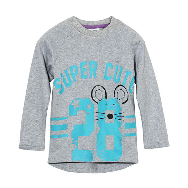 2015 New Little Maven Lovely Number Baby Children Boy Cotton Long Sleeve Top - Slabiti