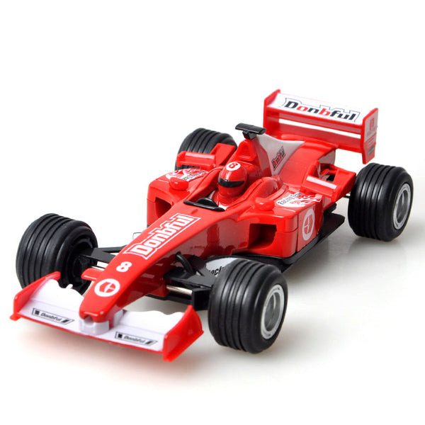 Kids Toy Vehicles Pull Back Car Mini Formula Racing Car Collectable Educational Track Toys - Slabiti