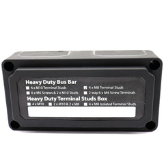 Bus Bar Power Negative Distribution Box Terminal Block 12/24V 300 Amp Heavy Duty - Slabiti