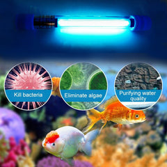 Aquarium UVC Sterilizer Lamp Light - Slabiti