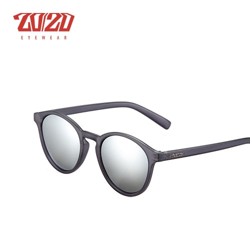 20/20 Brand Design New Classic Polarized Sunglasses Men Driving Round Sun Glasses Unisex Vintage Shades Eyewear for Women PL324 - Slabiti