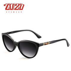 20/20 Brand Design Vintage Polarized Cat Eye Sunglasses Women Gradient Lens Sun Glasses Shades Female Eyeglasses Oculos PL356 - Slabiti