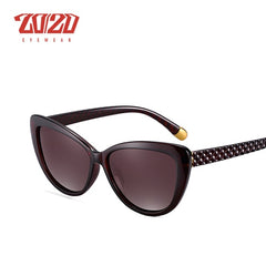 20/20 Brand Design Women Cat eye Polarized Sunglasses Female Sun Glasses Retro Style Shades Glasses Oculos Feminino PL336 - Slabiti