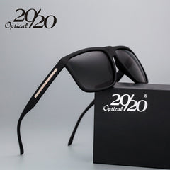 20/20 Brand Fashion Black Sunglasses Men Polarized Driving Sun Glasses Fashion Male Oculos Gafas Eyewear PL207 - Slabiti