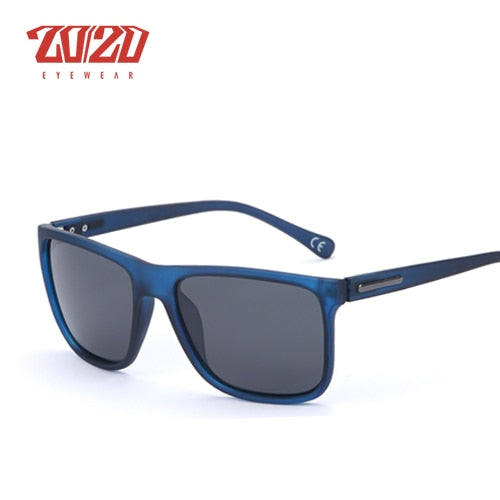 20/20 Brand Polarized sunglasses Men UV400 Classic Male Square Glasses Driving Travel Eyewear Gafas Oculos PL243 - Slabiti