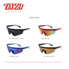 20/20 Fashion Sun Glasses Outdoor Sports Sunglasses Men Women Glasses Goggles Eyewear Rainbow Lens UV400 Car Sun Glasses PL420 - Slabiti
