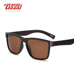 20/20Classic Polarized Sunglasses Men Glasses Driving Coating Black Frame Fishing Driving Eyewear Male Sun Glasses PL278 - Slabiti
