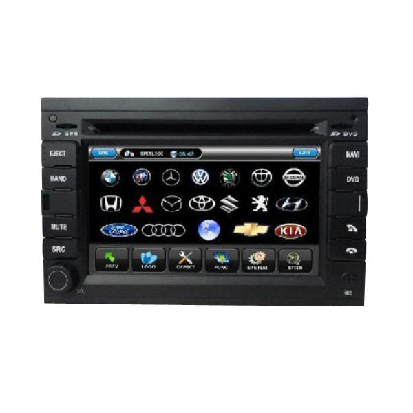 6 Inch Car DVD Player with Digital Screen+Built-in GPS+RDS For VW PASSAT B5 - Slabiti