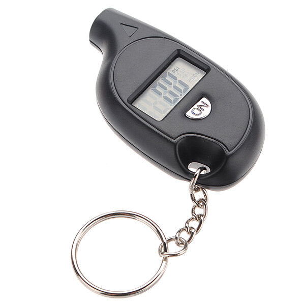 Mini LCD Digital Car Vehicle Motorcycle Tire Air Pressure Gauge - Slabiti