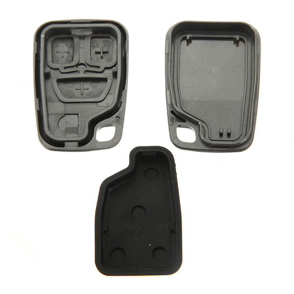 3 Buttons Remote Key FOB Case Shell Cover for VOLVO - Slabiti