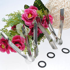 3pcs Stainless Steel Cake Clip Clamp Crimper Cutters Mold
