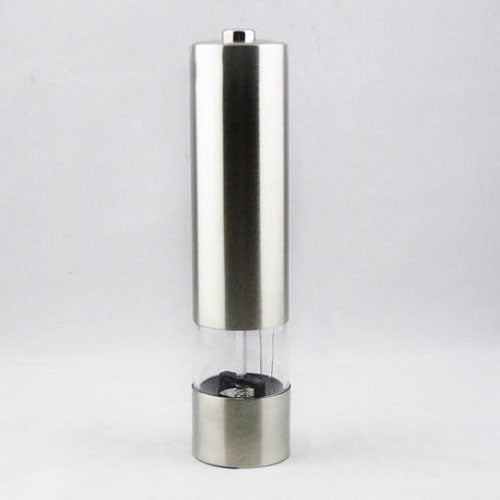Electric Stainless Steel Pepper Mills Kitchen Tool Salt Pepper Mill Grinder Muller