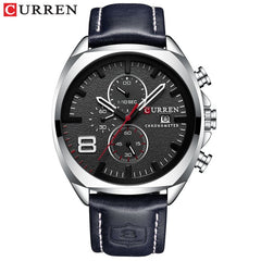 2019 Men Watches Top Brand Luxury CURREN Military Analog Quartz Watch Men's Sport Wristwatch Relogio Masculino Waterproof 30M - Slabiti