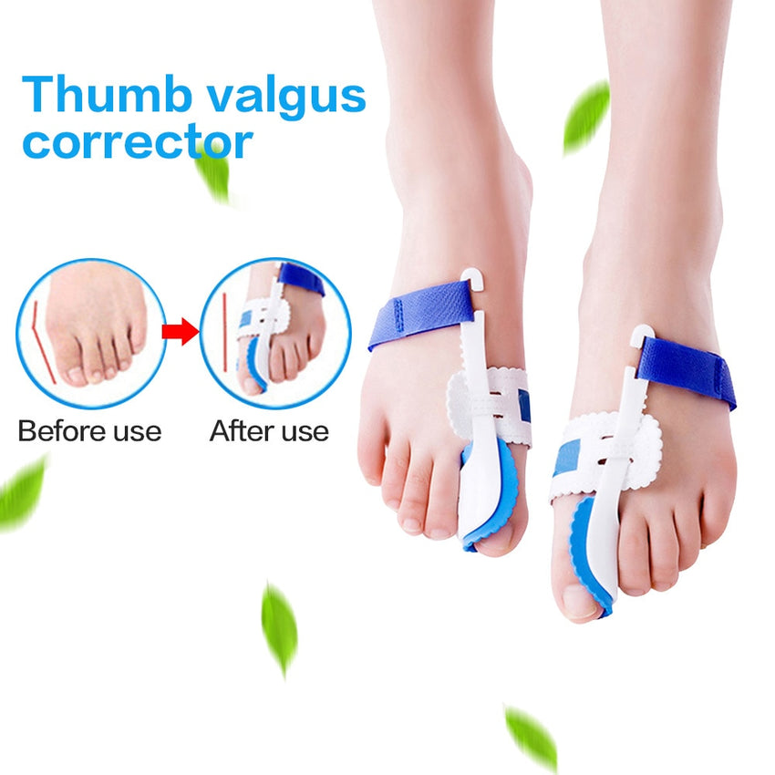 2019 new Bunion Splint Big Toe Straightener Corrector Pain Relief Hallux Valgus Orthopedic Supplies Pedicure Foot Care - Slabiti