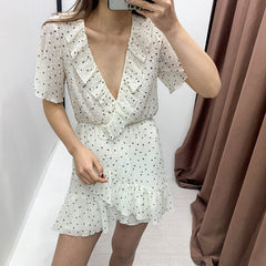 2020 Women Rompers Shorts Clubwear Print V Neck Playsuit Bodycon Party Jumpsuit Shorts Summer Beach Wear Overalls - Slabiti