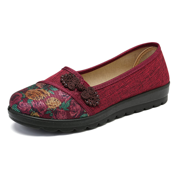 Women Soft Slip On Casual Flat Loafers Shoes