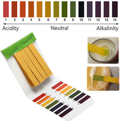 1-14 PH Alkaline Acid Test Paper Water Litmus Testing Kit Water Quality Tester