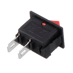 2-pin Rocker Switch 2-speed 250V Light Boat & Car Rocker Toggle Tool - Slabiti