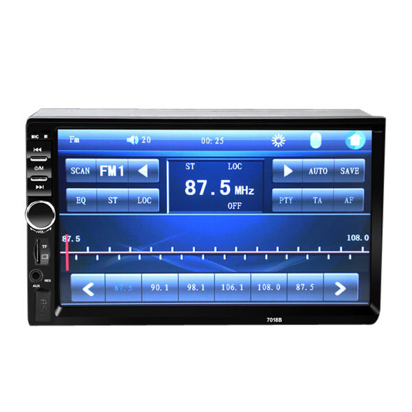 7018B Car Stereo 7 Inch HD bluetooth Touch Screen MP5 MP4 Player Short Version support Rear View - Slabiti