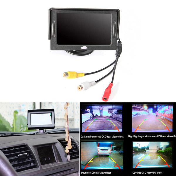 4.3 inch TFT LCD HD Digital Monitor Color Screen For Car Rear View Reversing Camera - Slabiti
