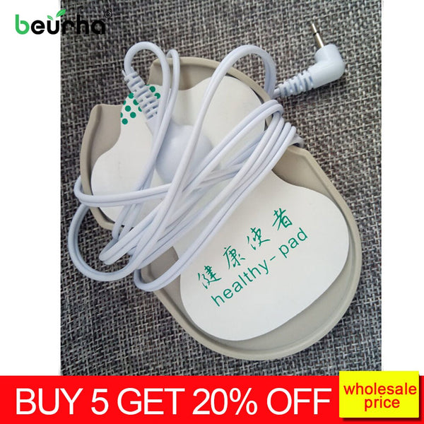 2pcs Body Massage Electrode patch placement board plastic board universal massager accessories - Slabiti