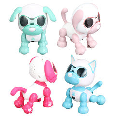 Intelligent Smart Mini Puppy Robot Dog Sound Record Puppy Toy Birthday Gift Collection - Slabiti