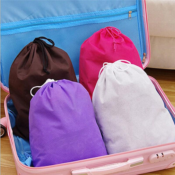 Honana HN-B3 Travel Storage Bag Debris Clothes Shoes Portable Moistureproof Non-woven Pouch - Slabiti