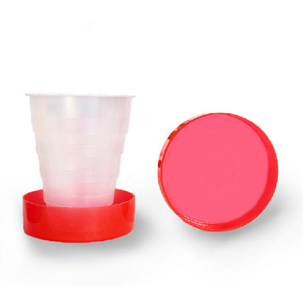 Plastic Outdoor Folding Water Cup Camping Hiking Folding Drinking Cup - Slabiti