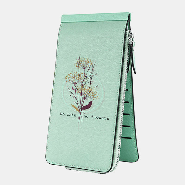 Women Multi-slots Card Holder Printed Wallet Purse - Slabiti