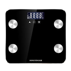 180KG/50G Bathroom Scales LCD Display Floor Body Weight Smart Electronic Digital Scale Balance Baria - Slabiti