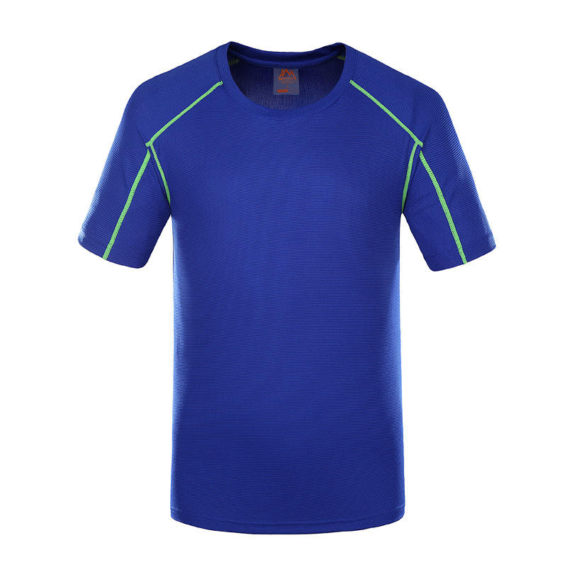 Mens Outdoor Breathable Fast Drying Short Sleeve Sport Tops - Slabiti