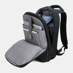 Fashion Large Capacity Multifunctional Backpack Loptop Computer Bag With USB Charging Port - Slabiti