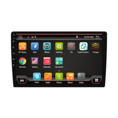 PX6 10.1 Inch 1 DIN 4+32G for Android 9.0 Car MP5 Player 8 Core Touch Screen bluetooth RDS Radio GPS with Carema - Slabiti
