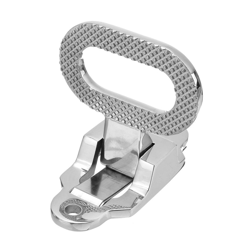 Folding Non-slip 316 Stainless Steel Folding Step Pedal Bracket For Marine Boat Yacht Car - Slabiti