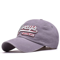 Men Women Letter Always Embroidery Cotton Baseball Cap Sport Adjustable Snapback Hat - Slabiti