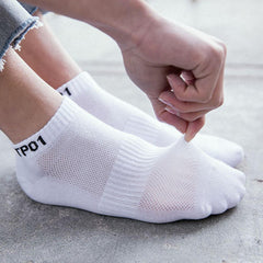 Men's Summer Cotton Breathable Ankle Socks Casual Soft Antiskid Short Socks - Slabiti
