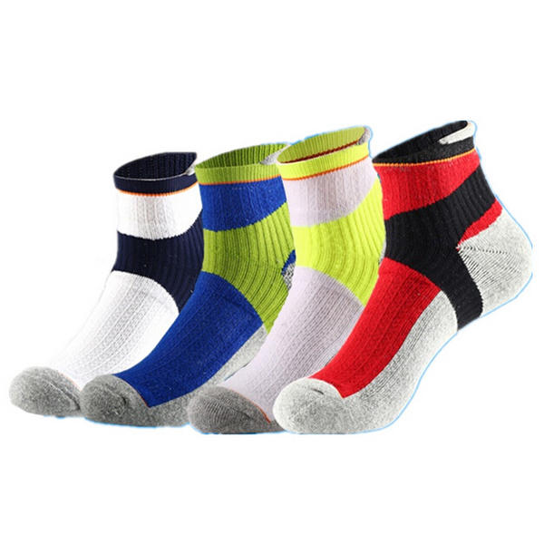Mens Outdoor Thick Winter Professional Basketball Cycling Sock Panel Sport Towel Socks - Slabiti