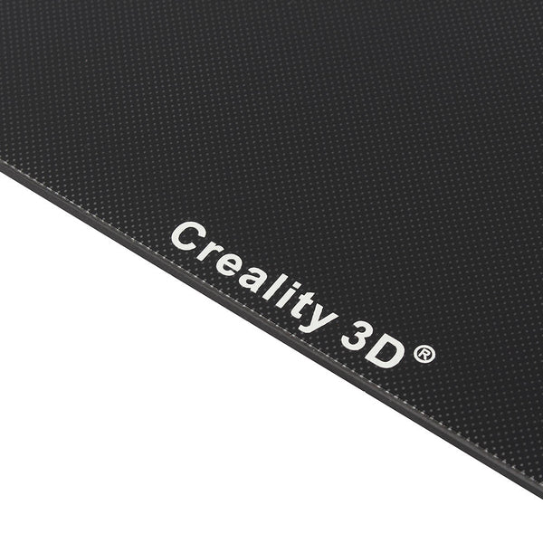 Creality 3D 310*320*4mm Heated Bed + Back Support Slide Block Plate With Pulley + Ultrabase Glass Plate Platform For CR-10S PRO/CR-X 3D Printer Part - Slabiti