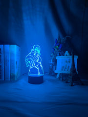 3d Illusion Lamp Itachi Uchiha Figure Touch Sensor Nightlight for Kids Bedroom Decor Cool Gift for Child Led Night Light Naruto - Slabiti