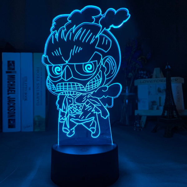 3d Night Light Attack on Titan Figure Nightlight for Child Bedroom Decoration Light Touch Sensor Desk Night Lamp Gift for Kids - Slabiti