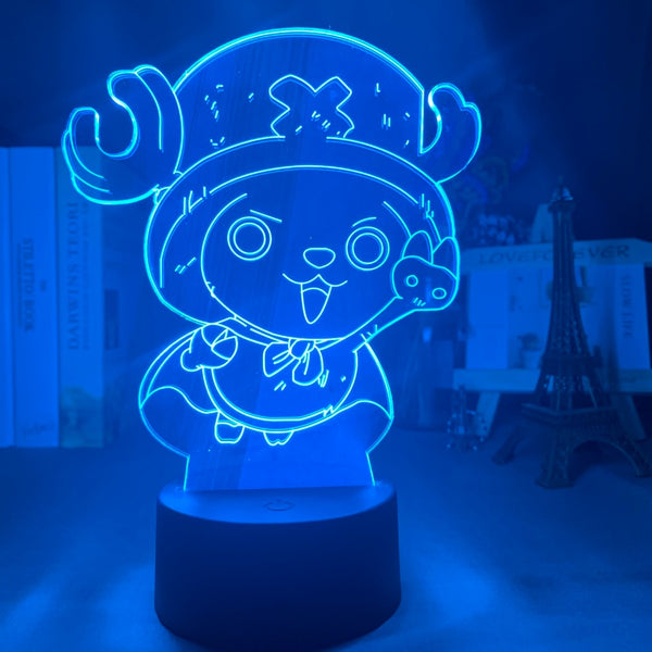 3d Night Light Tony Tony Chopper Figure USB Battery Powered Nightlight for Kids Child Bedroom Decor Led Night Light One Piece - Slabiti