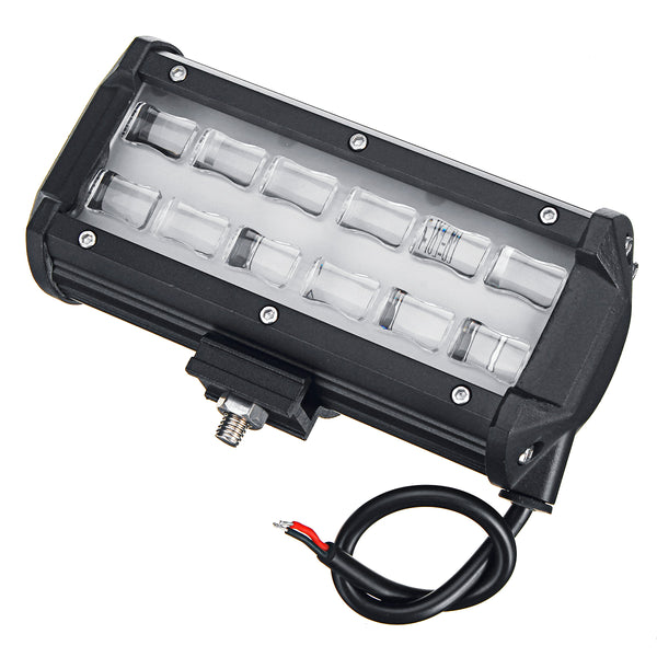 6D LED 36W 6000K Work Light Spot Beam Boat Truck Offroad 4WD SUV White Lamp IP67 - Slabiti