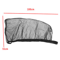 Universal Car Sun Shade Cover Black Front Side Window Provides UV Protection - Slabiti