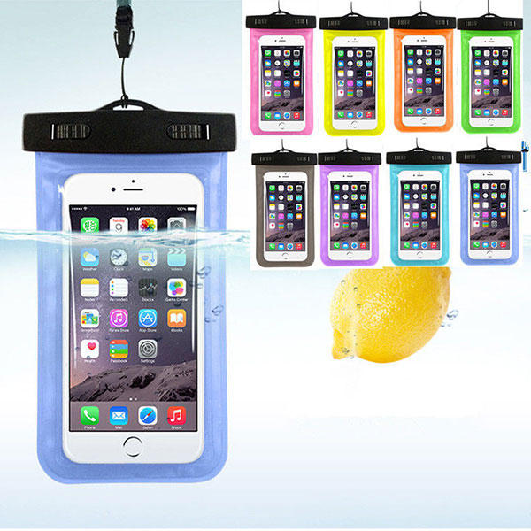 Cell Phone Waterproof Cover Universal Under Water Bag Transparent Touchscreen Mobile Phone Pouch - Slabiti