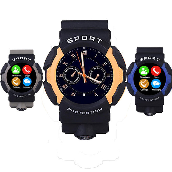 A10 Waterproof Sport Smart Watch MT2502 With bluetooth G-sensor For Android iOS Phone - Slabiti